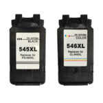 Canon PG545XL Black CL546XL Colour Remanufactured Ink Cartridge